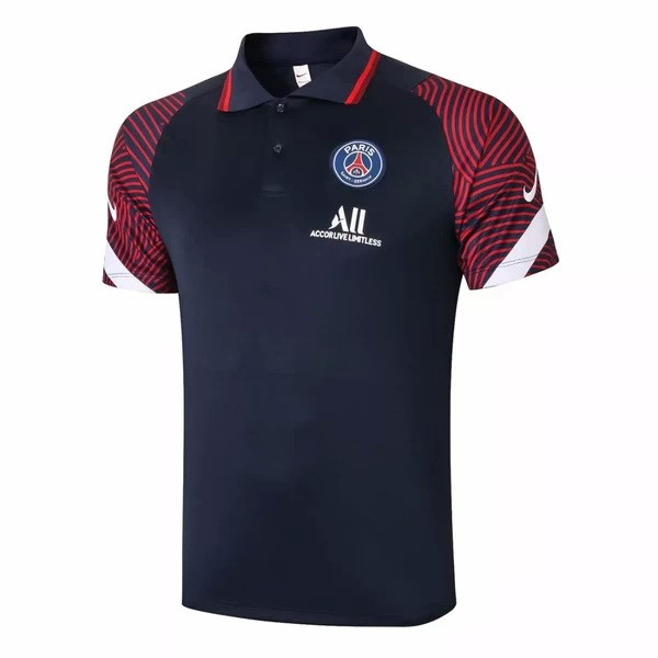Polo Paris Saint Germain 2020/2021 Azul Marino Rojo
